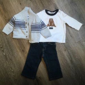 Janie&Jack Baby Outfit (3-6 mo)